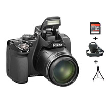 Câmera Nikon P530 Gps 16.1mp Zoom 42x + Bolsa + 16gb + Tripé