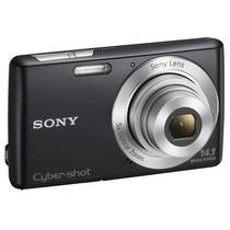 Câmera Digital 14.1mp Dscw620b - Cartão 4gb - Sony