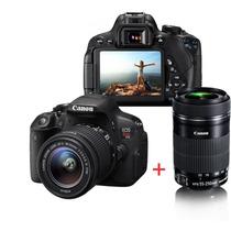 Kit Canon T5i Premium C/18-55mm + 55-250mm + 16gb + Bolsa