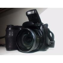 Câmera Ge X400 Super Zoom 15x 14mp + Cartão Sd 4gb Semipro