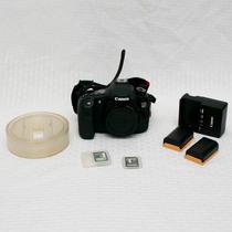 Canon Eos 60d Corpo + Gary Fong + 2 Baterias + 2 Cartões