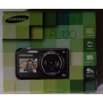 Câmera Fotográfica Samsung Pl 120 Preta Sem Uso