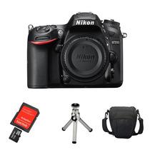 Câmera Nikon D7200 Corpo + Sd32gb + Bolsa + Tripé + Kit Lp