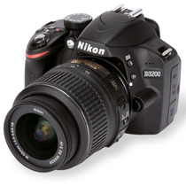 Camera Nikon D3200 Kit 18-55mm + Bolsa+32gb+tripe+n. Fiscal