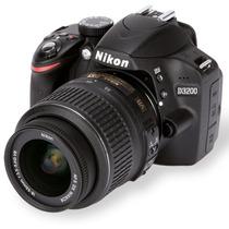 Camera Nikon D3200 Kit 18-55mm + Bolsa+32gb+tripe+n. Fiscal
