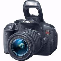 Câmera Canon T5i Eos Rebel C/ Lente Ef-s 18-55mm