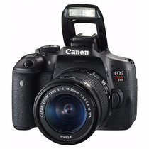Camera Canon Eos Rebel T6i Dslr Ef-s18-55mm