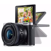 Câmera Fotográfica Samsung Nx3000 ( 16-50 Mm Power Zoom)