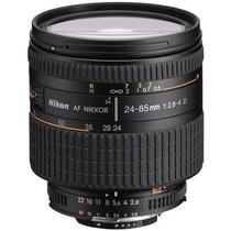 Lente Nikon Af 24-85mm 2.8 - 4 D P/ Camera Nikon Full Frame