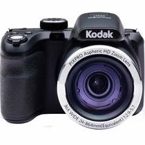 Câmera Digital Kodak Az362 Preto Cmos 16mp, Zoom Óptico 36x