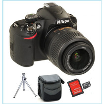 Camera Digital Nikon D3200 24.2mp Full Hd. 12x Mp + Kit