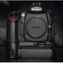 Camera Nikon D90 + Grip + Bateria + Perfeita 17k Cliks Dslr