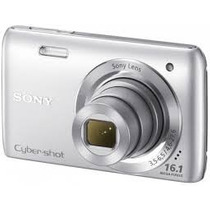 Câmera Digital Sony Cyber-shot Dsc-w670 16 Mp 2.7 Lcd Nova