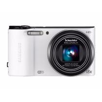Câmera Dig Samsung Wb150 14.2mp, Zoom Óptico 18x, De Vitrine