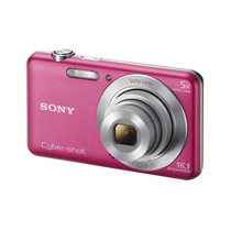 Camera Digital Sony Cyber-short Dsc W710 Com 16.1 Mpx Rosa