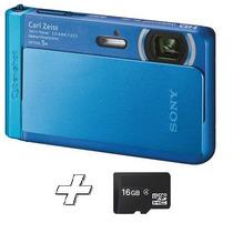 Câmera Digital Sony Dsc-tx30 18.2mp Lcd 3.3¿ + Cartão 16gb