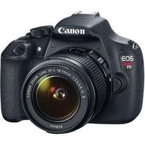 Câmera Canon Eos Rebel T5 Lente 18-55 Dslr - 1 Ano Garantia