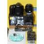 Kit Nikon D5300 + Nikon 18-55 + Sd Sandisk- Em Recife
