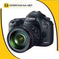 Canon Eos 5d Mark Iii + Lente Canon 24-105mm +sdhc Sony 32gb