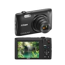 Câmera Digital Nikon Coolpix S3600, 20.1mp, Lcd 2.7, 4gb