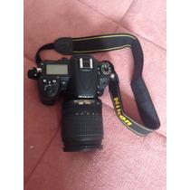 Nikon D7000 + Lente 18-105mm + 2 Baterias + Bolsa P/ Transp.