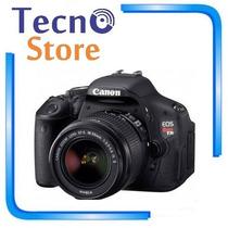 Câmera Canon Rebel T3i 18-55mm - Retire Em Curitiba!
