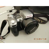 Camera Sony Dsc H1- Completinha-super Conservada-pouco Uso