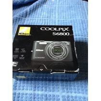 Incrivel! Nikon S6800 Câmera Digital 16 Megapixel - Wi-fi