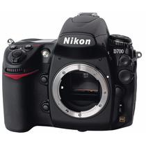 Camera Nikon D700 Fx *nova Na Caixa* Raridade C/ Nota Fiscal