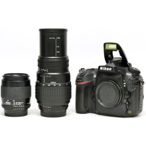 Nikon D800 + 2 Objetivas + Cartão 32gb