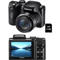 Camera Samsung Semiprofissional Wb100 16mp 26x Zoom Vitrine