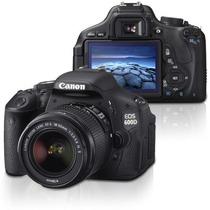 Camera Canon 600d Rebel T3i 18-55mm+32gb Class10+bolsa+tripé