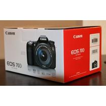 Câmera Canon 70d Wi-fi +18-55 Stm +sandisk32gb +case +tripe