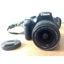 Câmera Digital Canon Eos T3 Rebel - Excelente Estado