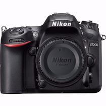 Câmera Nikon D7200 24.2 Mp Wi-fi Somente O Corpo ! Nova !