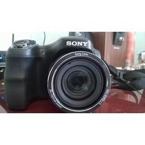 Câmera Semiprofissional Sony Dsc-h200 20.1 Mp Zoom 26x + Tri