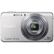 Câmera Digital Sony W630 16mp 5x Zoom Optico + 8gb + Case