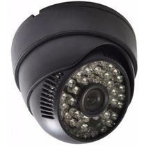 Câmera Dome Digital Infravermelho 1200tvl Ccd 48 Leds 50m
