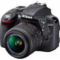 Câmera Nikon D3300 18-55mm+32gb+bolsa+mini Tripé