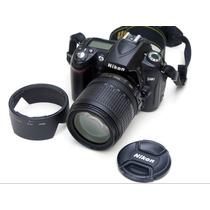 Nikon D90 Com Lente 18-105 Vr Completa