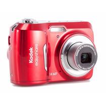 Câmera Digital Kodak Easyshare C1530 Vermelha 14mp