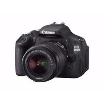 Camera Canon Eos Rebel T3i +18-55 Pronta Entrega + Brindes