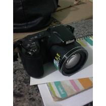 Maquina Fotografica Nikon Com Vários Acessórios