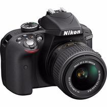 Kit Câmera Digital Nikon D3300 Lente 18-55mm 24mp Wifi Nova