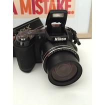 Câmera Fotográfica Nikon L120 14.1mp Semi-profissional
