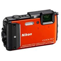 Câmera Digital Nikon Coolpix Aw130 À Prova De Água 16mp Oled