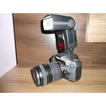 Canon 7d + Lente Efs 18-135mm + Flash Speedlite 580exii