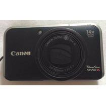 Câmera Canon Powershot Sx210 Is (14.1 Mp)