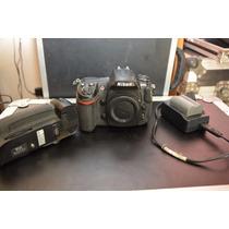 Camera Fotografica D300s Nikon, Bateria,carregado ,gripe