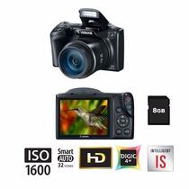 Câmera Semi-profissional Canon Sx400is 16mp Zoom 36x